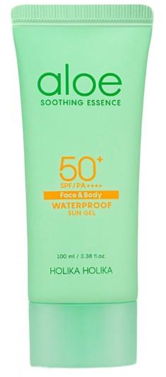 HOLIKA HOLIKA Гель солнцезащитный водостойкий Алоэ Сан / Aloe Water Proof Sun Gel 100 мл