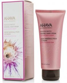 AHAVA Крем минеральный для рук, кактус и розовый перец / Deadsea Water 100 мл
