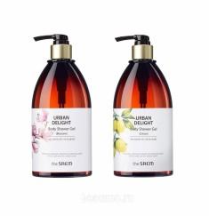 гель для душа the saem urban delight body shower gel