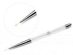 TNL PROFESSIONAL Кисть для рисования, с серебряными кристаллами
