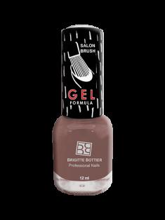 BRIGITTE BOTTIER 49 лак для ногтей гелевый, розовое какао / GEL FORMULA 12 мл