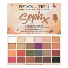 MAKEUP REVOLUTION Палетка теней для век / SophX Ultra Eyeshadows