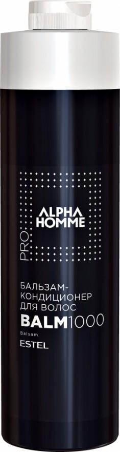ESTEL PROFESSIONAL Бальзам-кондиционер для волос, для мужчин / ALPHA HOMME PRO 1000 мл