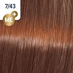 WELLA PROFESSIONALS 7/43 краска для волос, красный тициан / Koleston Pure Balance 60 мл