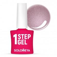 SOLOMEYA Гель-лак однофазный для ногтей, 38 гламур / One Step Gel Glamour 5 мл