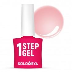 SOLOMEYA Гель-лак однофазный для ногтей, 5 бегония / One Step Gel Begonia 5 мл
