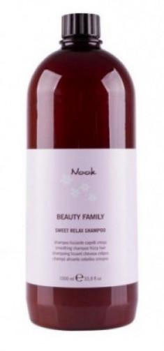 Шампунь для непослушных волос NOOK Beauty Family Sweet Relax Shampoo Ph5,5 1000 мл