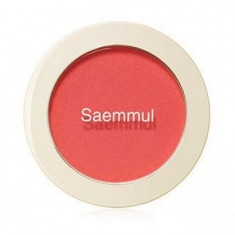 Румяна THE SAEM Saemmul Single Blusher RD01 Dragon Red 5гр