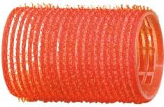 DEWAL PROFESSIONAL Бигуди-липучки красные d 36 мм 12 шт/уп