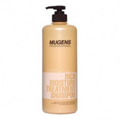 Шампунь для волос Welcos Mugens Rich Moisture Treatment Shampoo 1000g