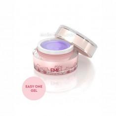 E.mi, easy one gel, многофункциональный прозрачный однофазный гель для моделирования, 15 г