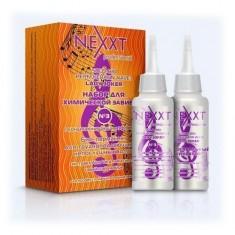 Nexxt профф. набор для хим.завивки № 3 био-перманент для трудноподдающихся.непосл..волос 2*110мл