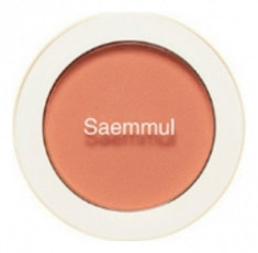 Румяна THE SAEM Saemmul Single Blusher OR04 Pumpkin Latte 5гр