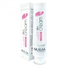 Крем для ног шёлковый с пудрой Aravia Professional Silky Cream 100 мл