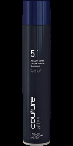 ESTEL HAUTE COUTURE Лак ультрасильной фиксации для волос / ATLAS 400 мл