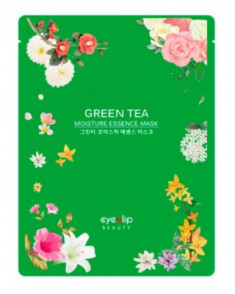 Маска тканевая с зеленым чаем Eyenlip GREEN TEA OIL MOISTURE ESSENCE MASK 25мл