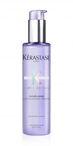 KERASTASE Сыворотка несмываемая для укрепления светлых окрашенных волос с термозащитой Цикаплазм / БЛОНД АБСОЛЮ 150 мл
