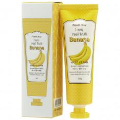 крем для рук с экстрактом банана farmstay i am real fruit banana hand cream