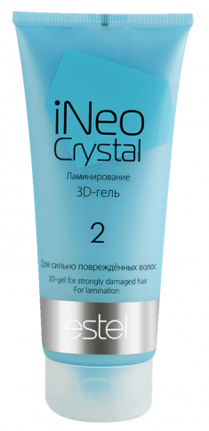 ESTEL PROFESSIONAL Гель-3D для сильно поврежденных волос / iNEO-CRYSTAL 200 мл