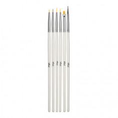 Pole, Набор кистей для дизайна, 6 шт.