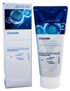 FARMSTAY Пенка очищающая увлажняющая с коллагеном / Collagen moistfull 180 мл
