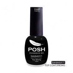 POSH Покрытие верхнее / Top Strong SENDVICH GEL UV/LED 12 мл