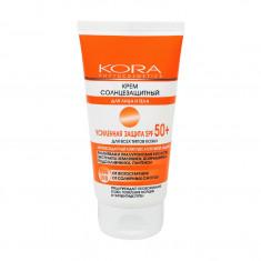 KORA Крем солнцезащитный для лица и тела SPF 50+ 150 мл
