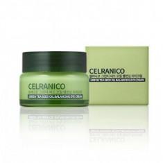 балансирующий крем для зоны вокруг глаз с семенами зеленого чая celranico green tea seed oil balancing eye cream
