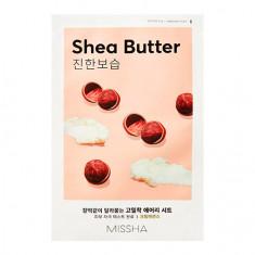 Missha, Тканевая маска для лица Airy Fit Shea Butter, 19 г