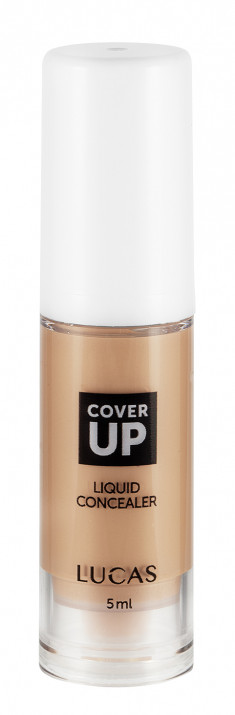 LUCAS' COSMETICS Консилер для лица 01 / Cover up liquid concealer 5 мл