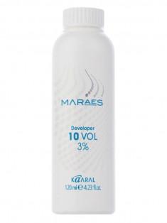 KAARAL Эмульсия окисляющая 3% / Developer 10 volume MARAES 120 мл