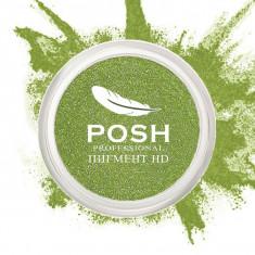 POSH Пигмент для глаз и губ, HD № 17 Electric Green 5 г
