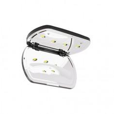 Kosmekka, Лампа UV/LED C12, 12W, серебряная