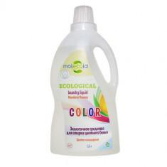 Molecola экологичный гель для стирки цветного и линяющего белья 1500мл