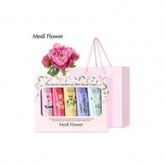 подарочный набор кремов для рук «цветочный сад» medi flower mediflower the secret garden of five hand cream set