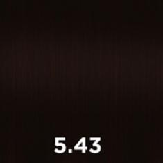 CUTRIN 5.43 крем-краска для волос, светло-коричневое медное золото / AURORA 60 мл