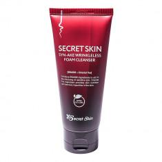 пенка для умывания антивозрастная secret skin syn-ake wrinkleless foam cleanser