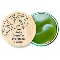 L.Sanic Гидрогелевые патчи для кожи вокруг глаз с экстрактом зеленого чая N60