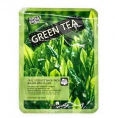 Маска тканевая с зеленым чаем May Island Real Essense Green Tea Mask Pack 25мл