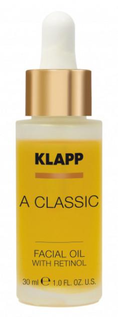 KLAPP Масло с ретинолом для лица / A CLASSIC 30 мл