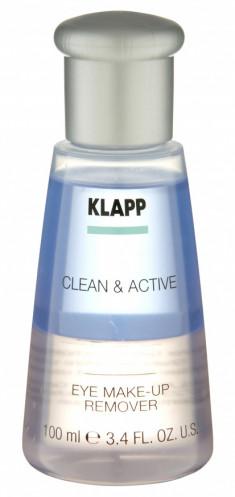 KLAPP Средство для снятия макияжа с глаз / CLEAN & ACTIVE 100 мл