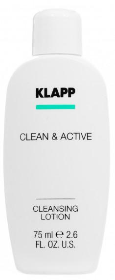 KLAPP Молочко очищающее для лица / CLEAN & ACTIVE 75 мл