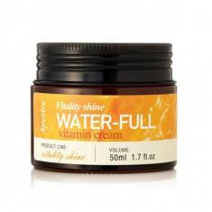 крем интенсивно увлажняющий с витаминами aperire vitality shine water-full vitamin