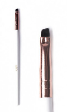 Кисть скошенная для окрашивания бровей мини SEXY Innovator Cosmetics