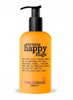 TREACLEMOON Гель для душа Согревающие объятия, с помпой / Warming happy hugsbath & shower gel 500мл