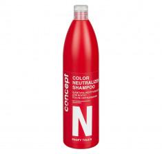 CONCEPT Шампунь-нейтрализатор после окрашивания для волос / PROFY TOUCH Color Neutralizer Shampoo 1000 мл