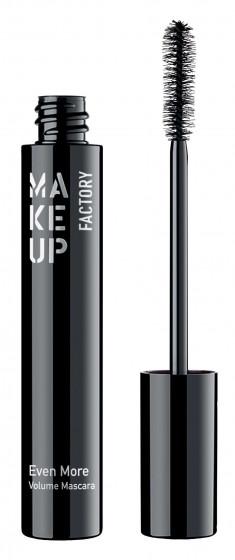 MAKE UP FACTORY Тушь для ресниц, 01 черный / Even More Volume Mascara 15 мл
