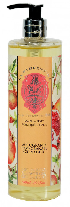 LA FLORENTINA Гель для душа, гранат / Pomegranate 500 мл