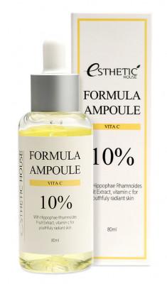 ESTHETIC HOUSE Сыворотка с витамином С для лица / FORMULA AMPOULE VITA C 80 мл