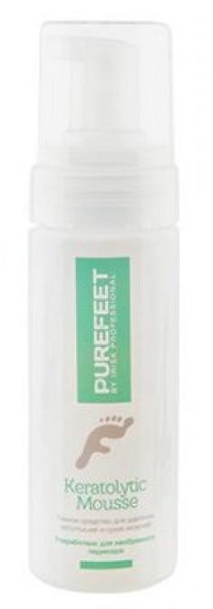 IRISK PROFESSIONAL Средство пенное для удаления натоптышей и мозолей / PureFeet Keratolytic Mousse 150 мл